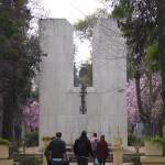 La tombe de Salvador Allende, premier président socialiste du Chili
