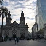 Cathédrale de la Place des Armes de Santiago