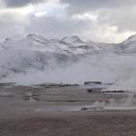 Forte activité géothermique