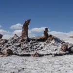 Vallée de la Lune (le blanc n'est pas de la neige mais du sel)