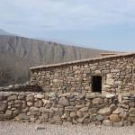 Reconstitution d'une forteresse inca aux abords du village de Tilcara