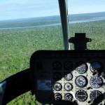 Tour en hélicoptère au dessus des chutes