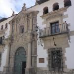 Maison de la monaie où étaient frappées les pièces d'argent avant d'être envoyées au Royaume d'espagne
