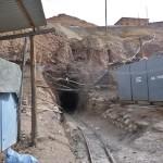 Entrée d'une des mines