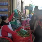 Vendeuse de feuilles de coca