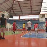 Entrainement de basket