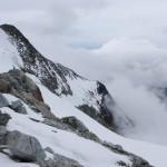 Arrivée au second refuge à 5500 m