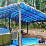 Nos moustiquaires pour la nuit dans la jungle