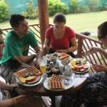 Au petit-déjeuner :-)