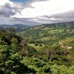 Superbe vue sur la vallée depuis le parcours