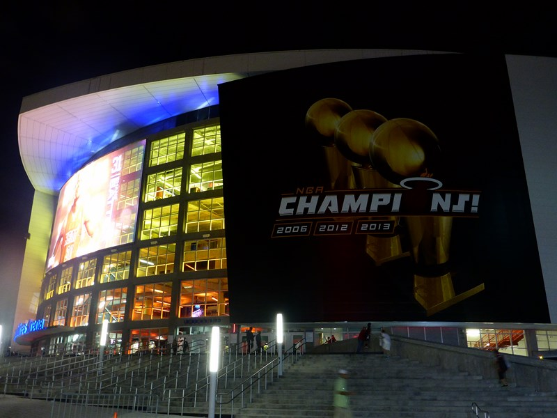 L'American Airlines Arena, l'antre du Heat!